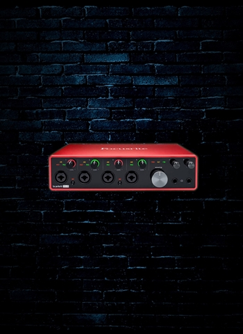 Focusrite Scarlett 18i8 - 18x8 USB Audio Interface (3rd Gen)