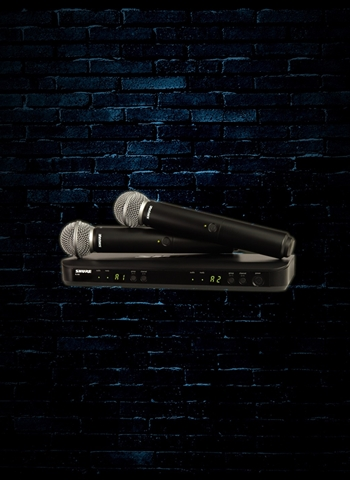 Shure BLX288/SM58 Wireless Dual Vocal Microphone System (J10 Band)