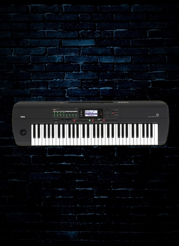 Korg i3 61-Key Music Workstation - Matte Black