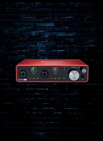 Focusrite Scarlett 4i4 - 4x4 USB Audio Interface (3rd Gen)