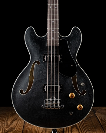 Aria TAB-TR1 Hollowbody Bass - Stained Black *USED*