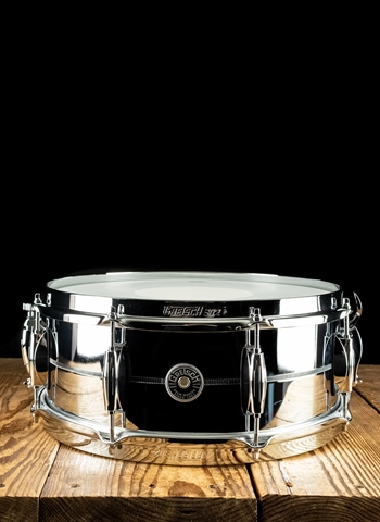 "Gretsch 5.5""x14"" Brooklyn Series Snare Drum - Chrome Over Steel"