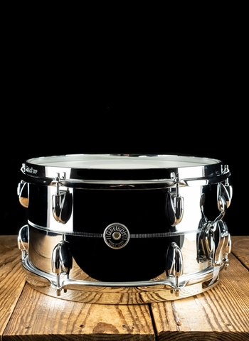 "Gretsch 7""x13"" Brooklyn Series Snare Drum - Chrome Over Steel"