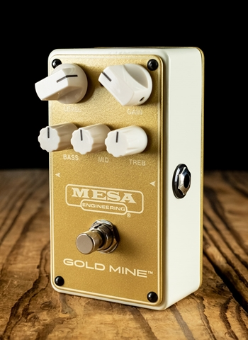 Mesa Boogie Gold Mine California High Gain Overdrive Pedal