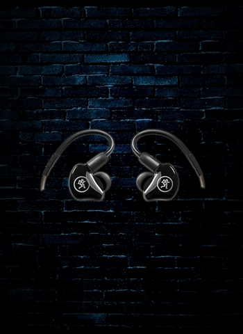 Mackie MP-220 MP Series Dual Dynamic Driver In-Ear Monitors