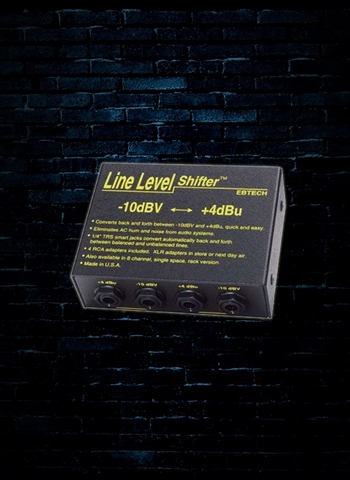 Ebtech LLS-2 - 2-Channel Line Level Shifter