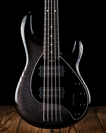 Music Man StingRay Special 5 HH - Smoked Chrome