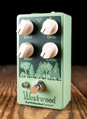 EarthQuaker Devices Westwood Translucent Overdrive Pedal