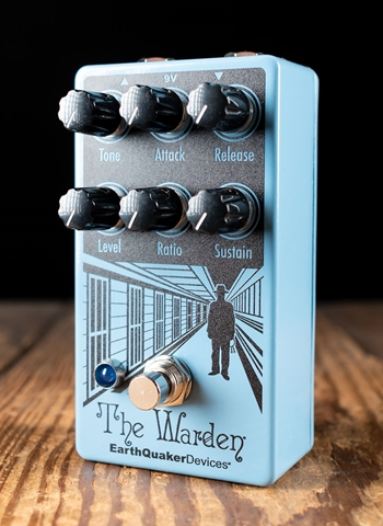 EarthQuaker Devices The Warden V2 Optical Compressor Pedal