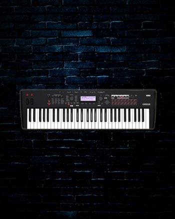 Korg KROSS 2 - 61-Key Performance Synthesizer Workstation
