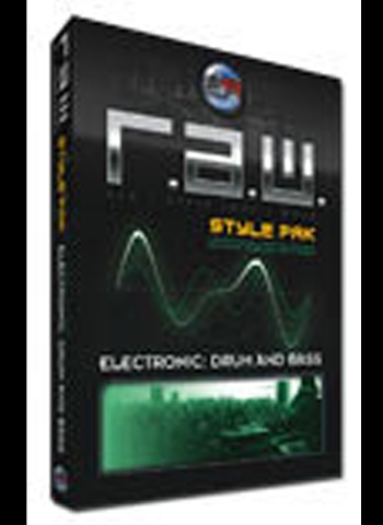Sonic Reality Raw Style Pak Electronic Drum N Bass