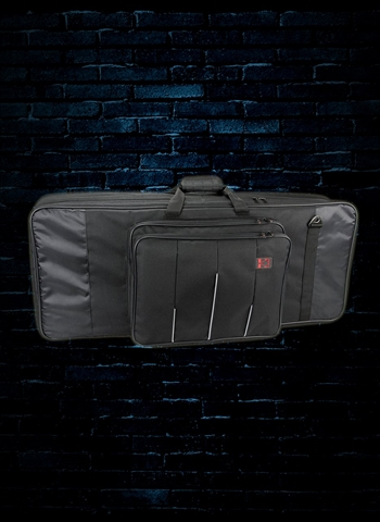 Kaces 5-KB Xpress Series 49-Key Keyboard Bag - Black