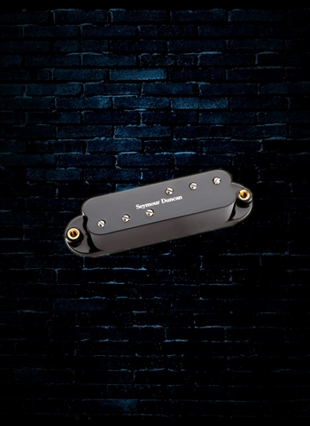 Seymour Duncan SDBR-1B Duckbuckers Strat Bridge Pickup - Black