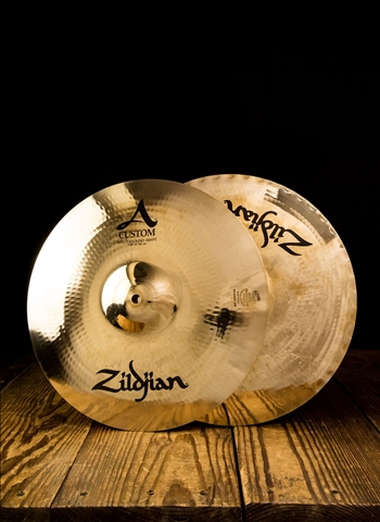 "Zildjian A20550 - 14"" A Custom Series Mastersound Hi-Hats"