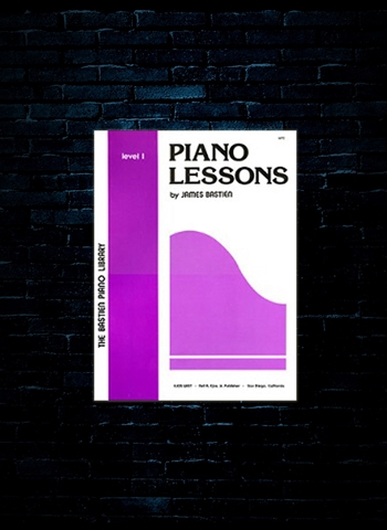 Bastien Piano Lessons Level 1