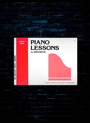 Bastien Piano Lessons Primer Level