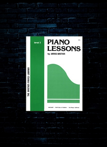 Bastien Piano Lessons Level 3