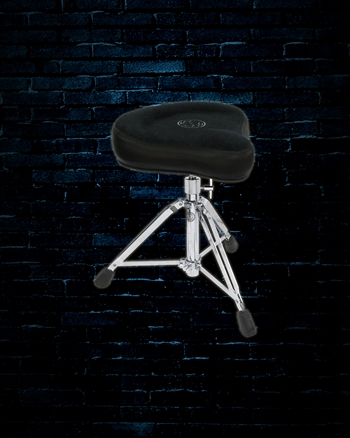 Roc-n-Soc MSHK - Manual Spindle Hugger Drum Throne - Black
