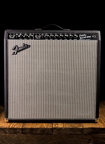 "Fender '65 Super Reverb - 45 Watt 4x10"" Guitar Combo - Black"