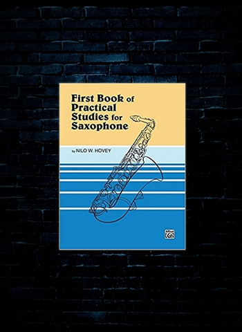 First Practical Studies For Sax