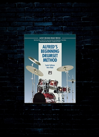 Drumset Method Alfreds Beginning w/CD